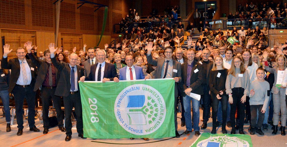 """Zum 13. Mal """"Umweltschule in Europa/Internationale Agenda 21-Schule"""""""