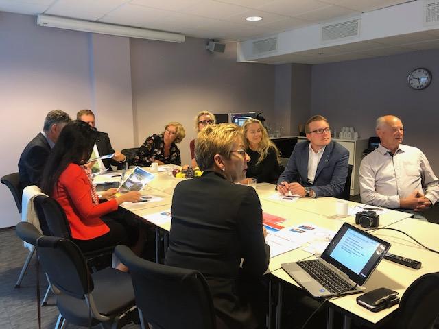 Besuch in Norwegen – Schulpartnerschaft wird angestrebt