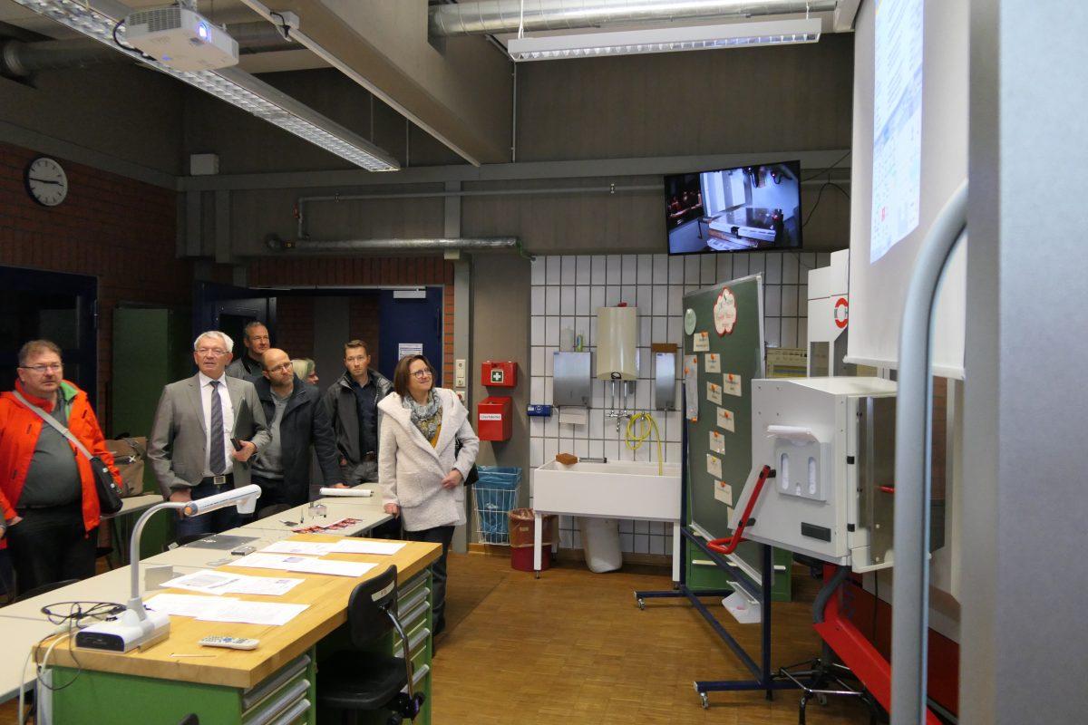 Das SBSZ Bamberg präsentiert sich den Verbandsräten des Zweckverbands Berufsschulen