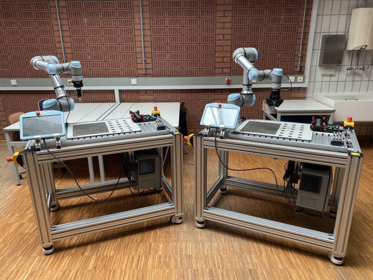 Herzlich willkommen Universal Robots