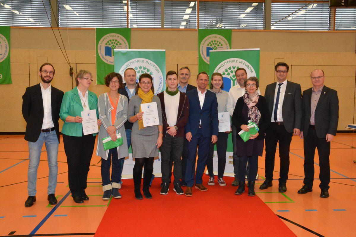 """Ein nachhaltiges Signal gesetzt! Unsere Schule zum 14. Mal als """"Umweltschule in Europa/Internationale Nachhaltigkeitsschule"""" ausgezeichnet"""