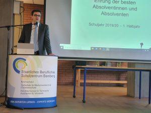 Schulleiter OStD Christian Käser
