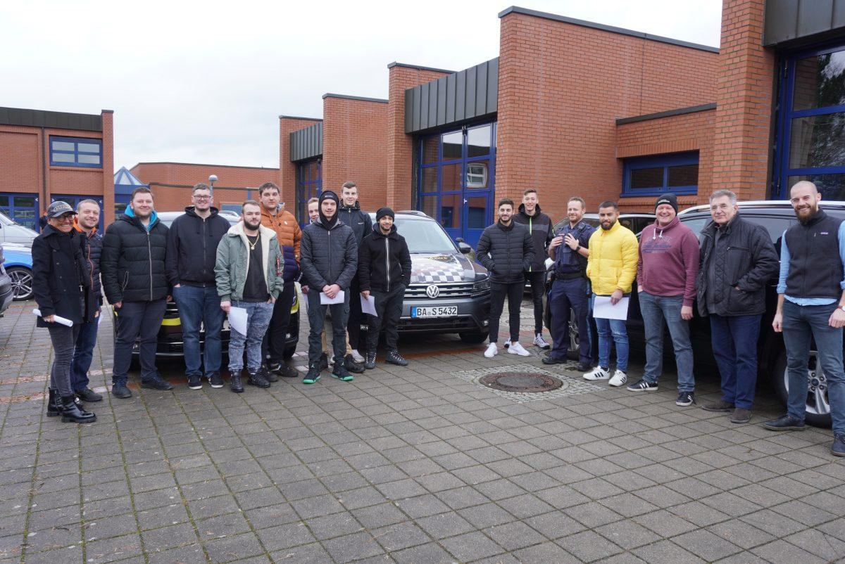 Verkehrssicherheitstraining am SBSZ – Projekt E.V.A.