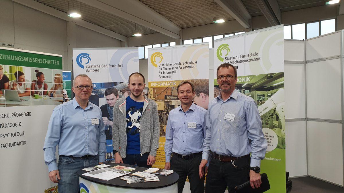 Berufsfachschule für Technische Assistenten für Informatik auf der Ausbildungsmesse in Forchheim
