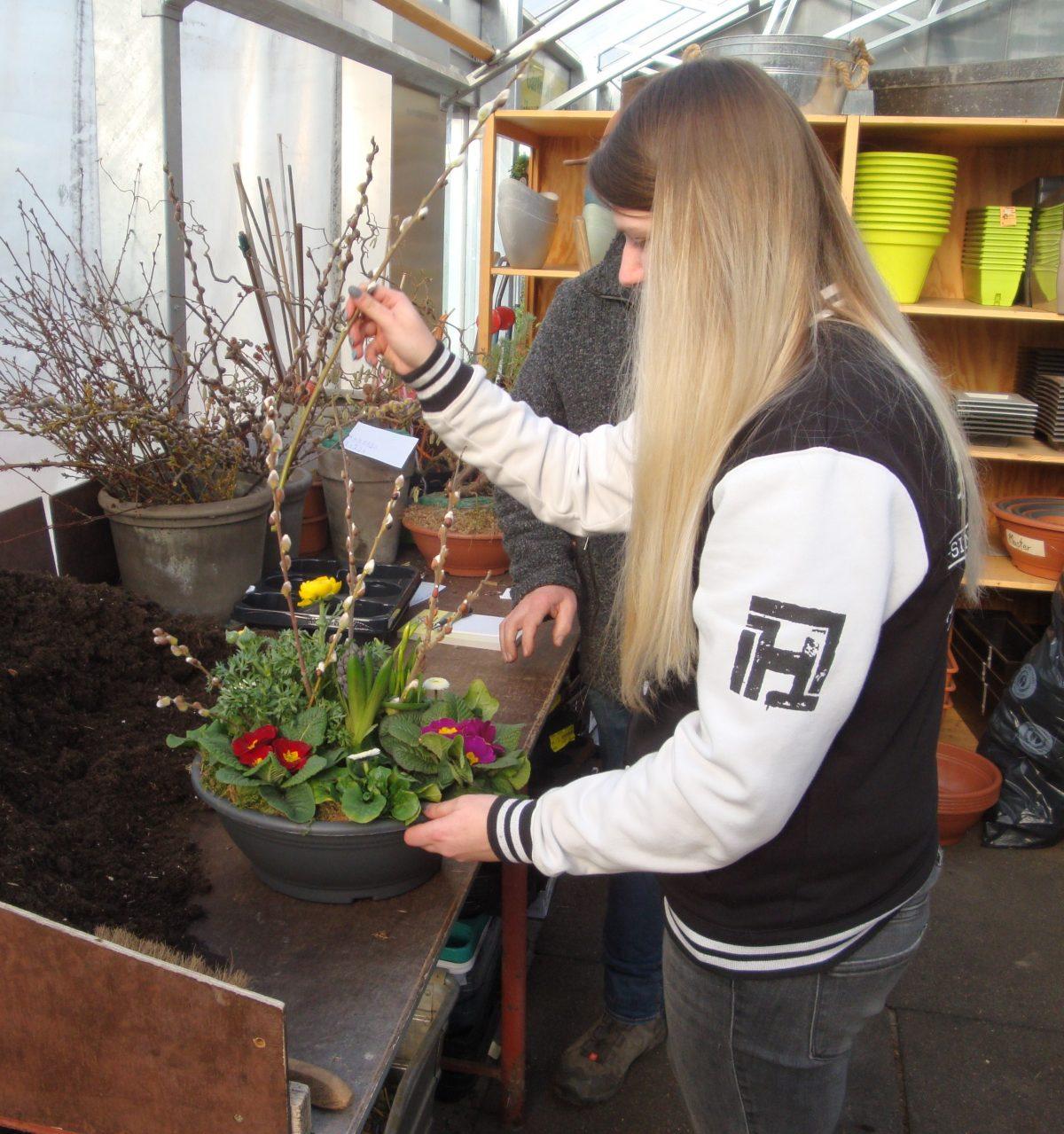 Fast schon Tradition: Prüfungsvorbereitung in der Gärtnerei Kunstmann in Weismain