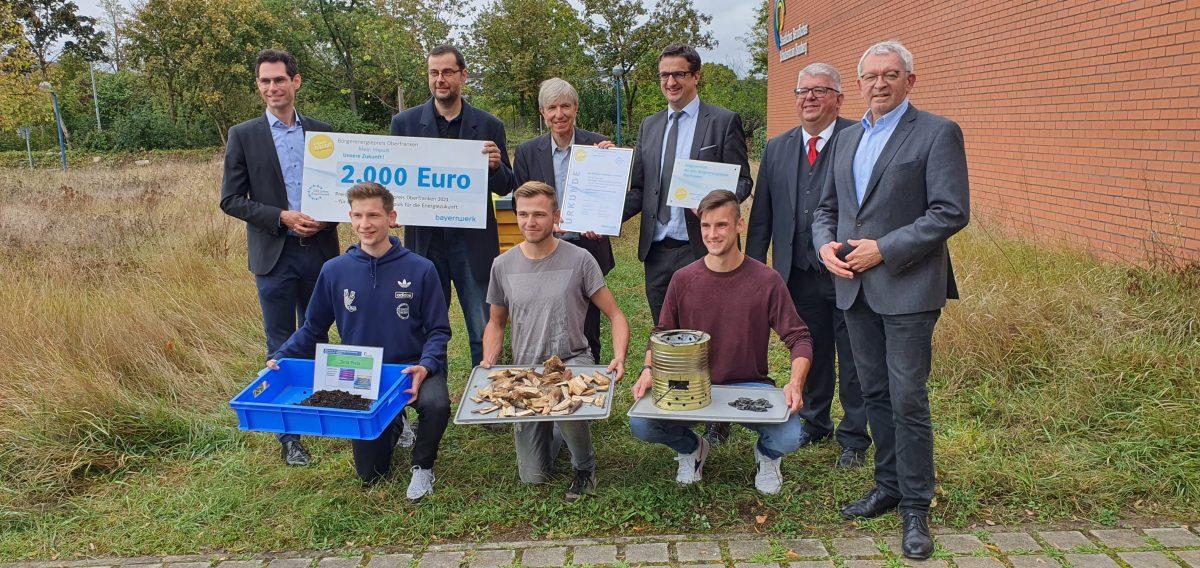 Auszeichnung mit dem Bürgerenergiepreis Oberfranken für Energieprojekt